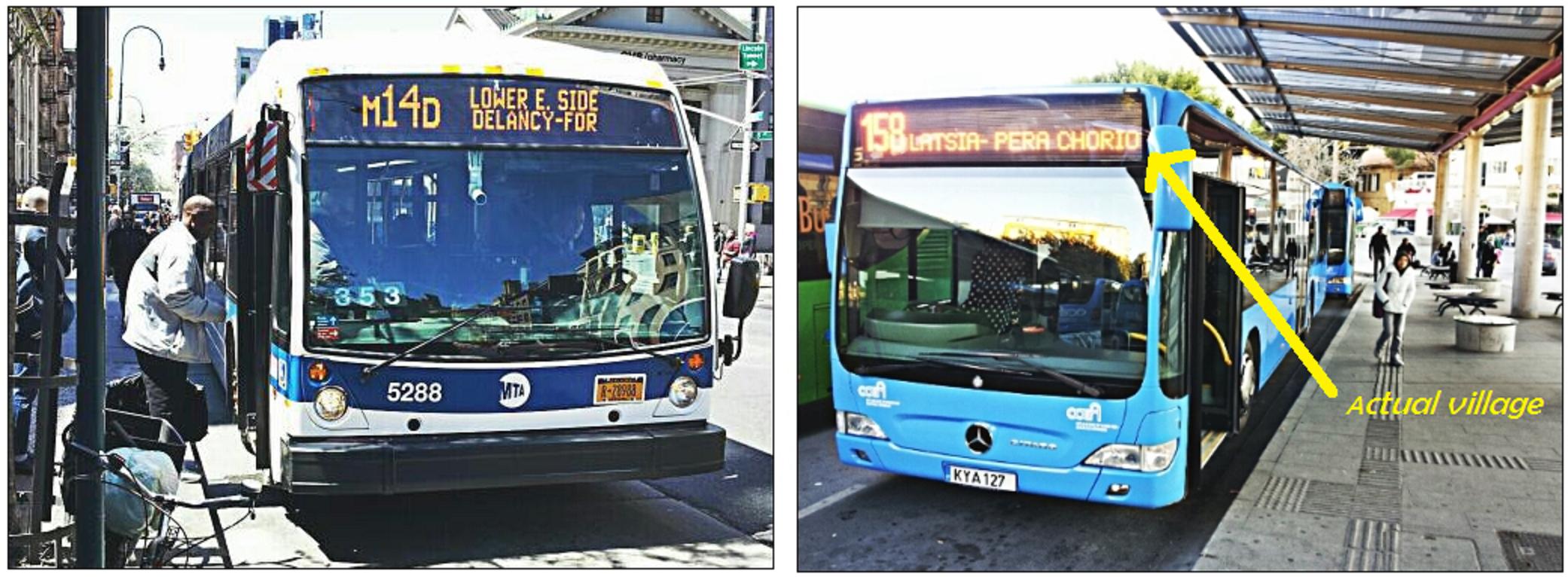 3. Bus routes